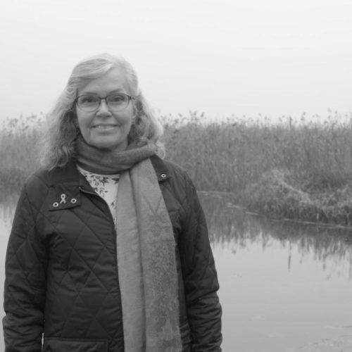 Bröstcancerpatientent Helen för Bröstcancerförbundetskampanj om Patienträttigheter
